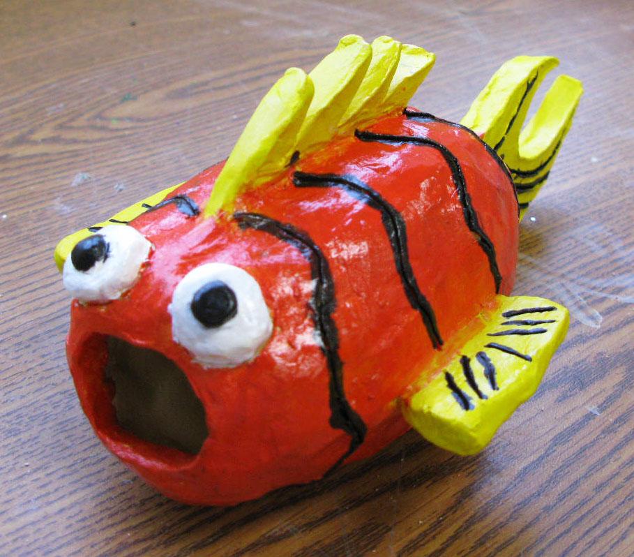 Clay fish sarah e wain for Clay pot fish
