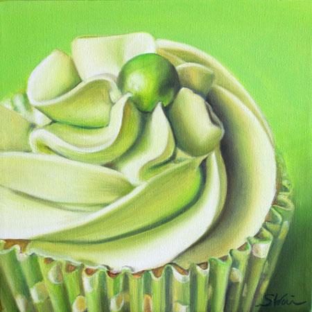 Lemon Chiffon Cupcake