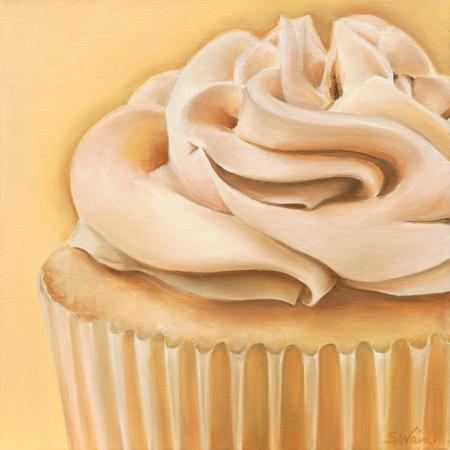 Vanilla Caramel Cupcake