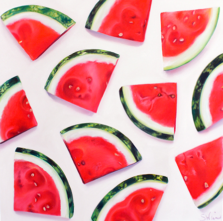Watermelon Slices Print