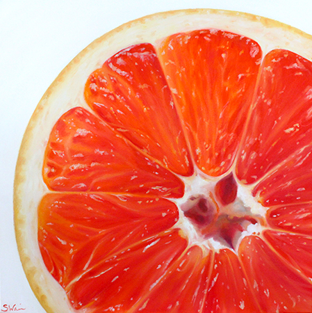 Grapefruit Slice Print