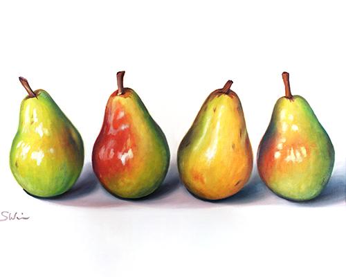 Pears III Print