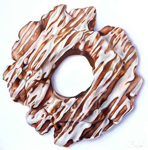 Cinnamon Old-Fashioned Donut